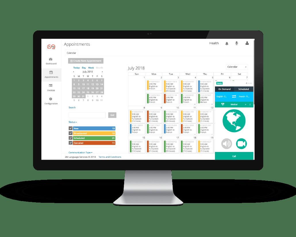 interpreter management system
