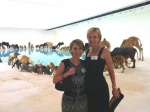 With ACBC at GOMA's exhibition Cai Guo-Qiang: Falling Back to Earth