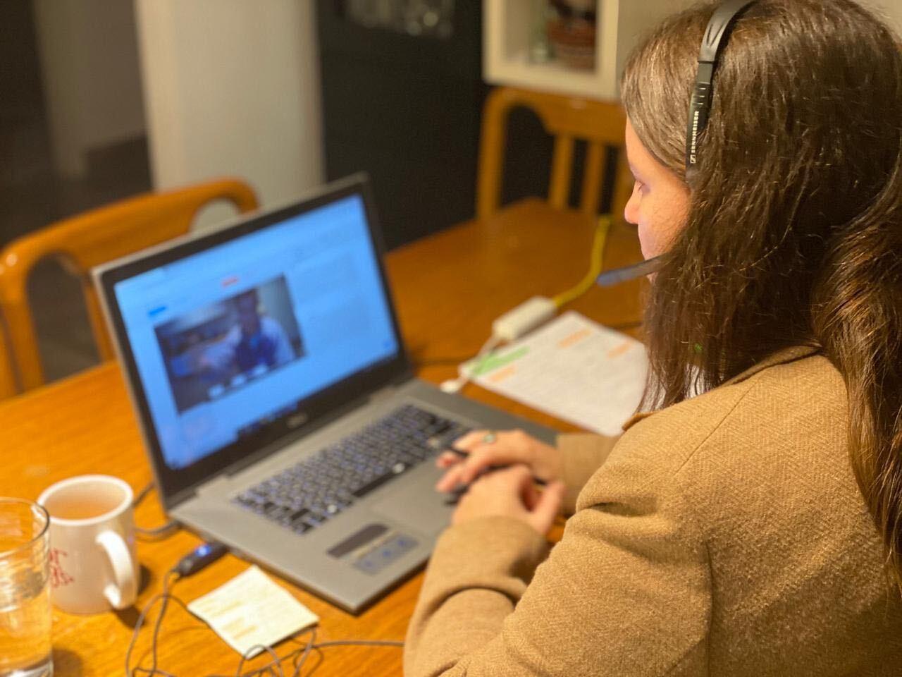 Remote Simultaneous interpreter